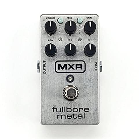 Pedale De Distortion - Dunlop MXR Fullbore Metal Pédale de distorsion