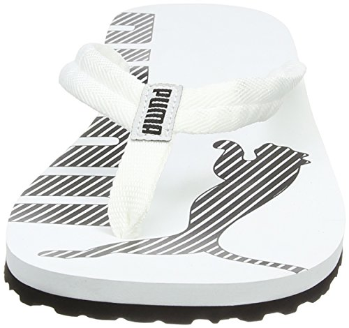 Puma  Epic Flip V2, Tongs mixte adulte Blanc (White/Black)