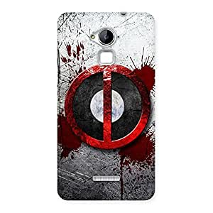 Stylish Bleed Dead Multicolor Back Case Cover for Coolpad Note 3