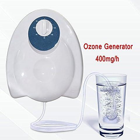 Cymall Ozone Purifier Portable Ozone Generator Ozonateur Air Eau Stérilisateur