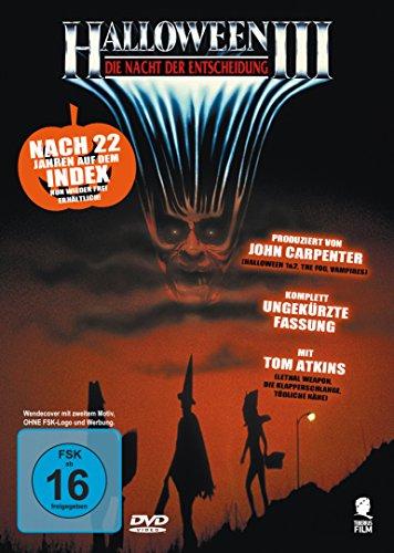 Halloween 3 - Die Nacht der Entscheidung (Uncut) (O Filme Halloween)