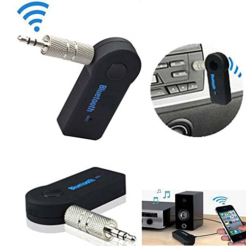 ulable Wireless Bluetooth 3,5mm AUX Audio Stereo Musik Home MP3Auto Empfänger-Adapter