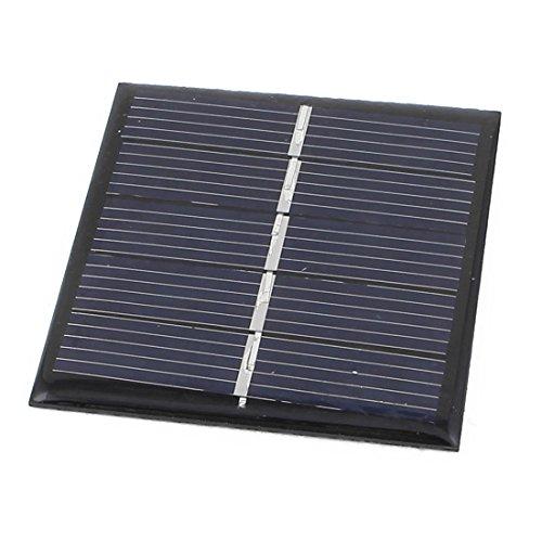 Aexit 2.5V 168mA 0.42W DIY Polycrystallinesilicon Sonnenkollektor Duracell Batterieladegerät 54mm x 54mm (Camcorder Duracell)