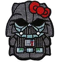 Titan One Europe Hook Fastener Hello Kitty Darth Vader Star Wars Empire Dark Side Morale Tactical Patch Taktish Klettband Aufn/äher
