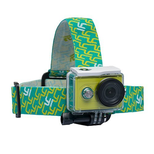Topmener Fascia da Testa Elastica Regolabile per Fotocamera//videocamera /per Action Cam