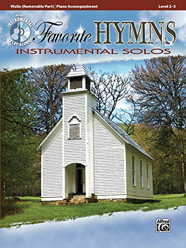 Favorite Hymns: Instrumental Solos for Strings (incl. CD) (Alfred's Instrumental Play-along)