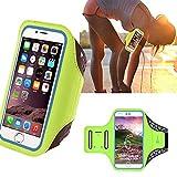 HyAdierTech Fascia da Braccio per iPhone 11 Pro/11/XR/XS/X/8/7, MAX 7 Plus 8 Plus Huawei P20 lite P8 Lite P9 Lite P10 Mate Samsung S8 S7 S9 J5 J7, Fascia da Braccio Sportiva Running