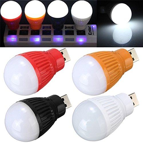 HANO Tragbare 5W USBBall Schreibtisch Reading Light-Lager-Lampen für PC Laptop 5V