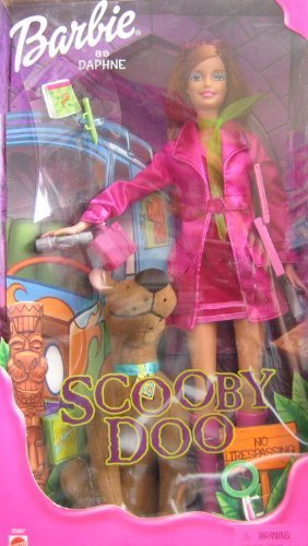 Scooby Doo Barbie as Daphne Doll (2001) by Mattel