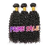 CLAROLAIR meche bresilienne tissage bresilien boucle cheveux naturel brésilienne bouclée cheveux bresilien tissage en lot (100 +/-5G)/pc (10 12 14 pouces)