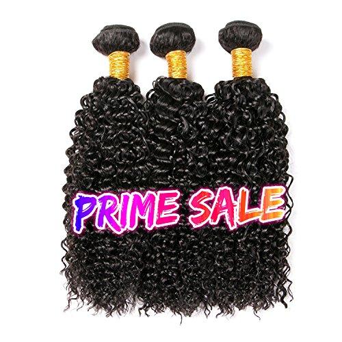 Clarolair capelli umani ricci capelli veri ricci brasiliani naturali extension brasiliani capelli ricci naturali extension 300g total (10 12 14)
