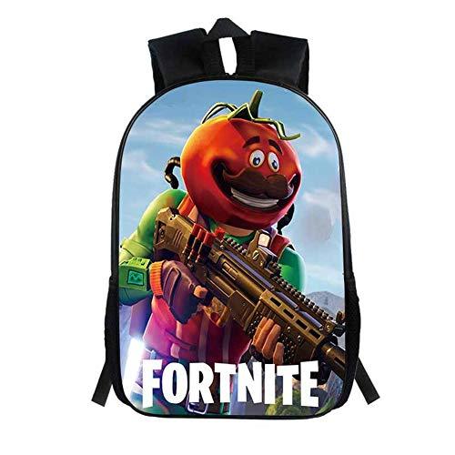 Fort Battle Royale Backpack, School Backpack Fashion Schoolbag for Kids Girls Boys,Game Fans Gift(E16)