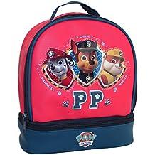 Paw Patrol–Bolsa de merienda térmico red Marshall Chase Rubble pat' patrulla