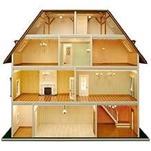 Suchergebnis auf Amazon.de für: puppenhaus bausatz aus holz
