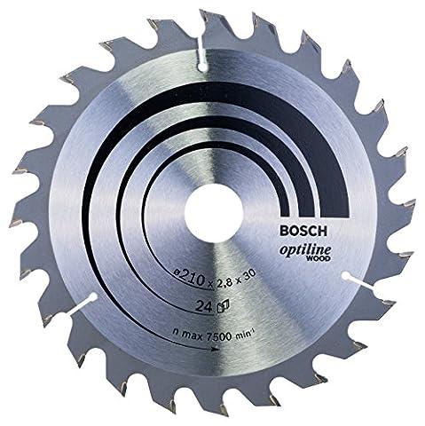 Bosch 2608640621 210 x 30 x 2.8 mm 24 Tooth Optiline Wood Circular Saw Blade