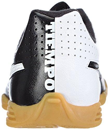 Nike Tiempo Rio II IC Unisex-Kinder Fußballschuhe Schwarz (Black/White 010)