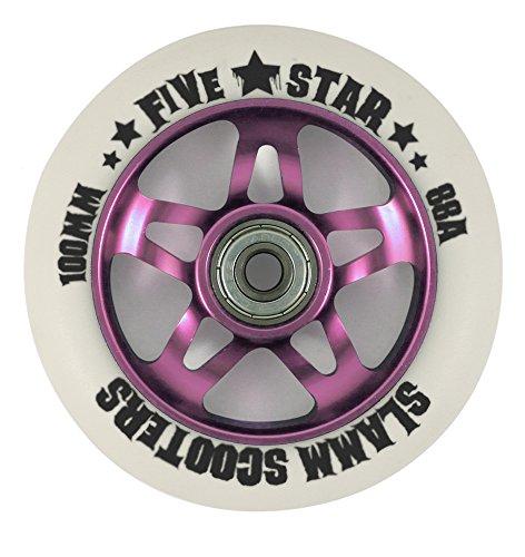 slamm 5 Sterne Scooter 88a Rad x1 - pink