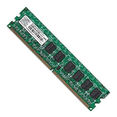 RAM Serveur DDR2-533 Mhz Transcend PC2-4200 1GB Unbuffered ECC CL4 TS128MLQ72V5J
