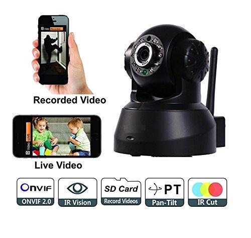 Bolt Wireless HD IP Wi-Fi CCTV Indoor Security Camera (Black)