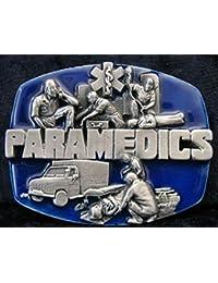 Buckle Paramedics at work, Rettungsdienst, Paramedic, Gürtelschnalle
