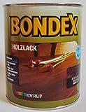 Bondex Holzlack f.d. Wohnraum, Nussbaum Innen 7731 Seidenglänzend 0,75 Liter