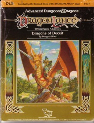 Dragons of Deceit (Advanced Dungeons & Dragons/Dragonlance Module DL9) by Doug Niles (September 19,1985) par Doug Niles