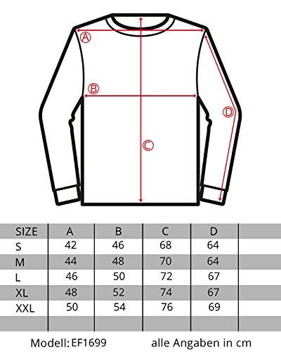 EightyFive Herren Pullover Feinstrick Streifen Weiß Grau Schwarz EF1699 Dunkelblau