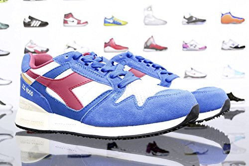 Diadora, Uomo, I.C. 4000 Premium, Pelle / Suede, Sneakers, Rosso Blu