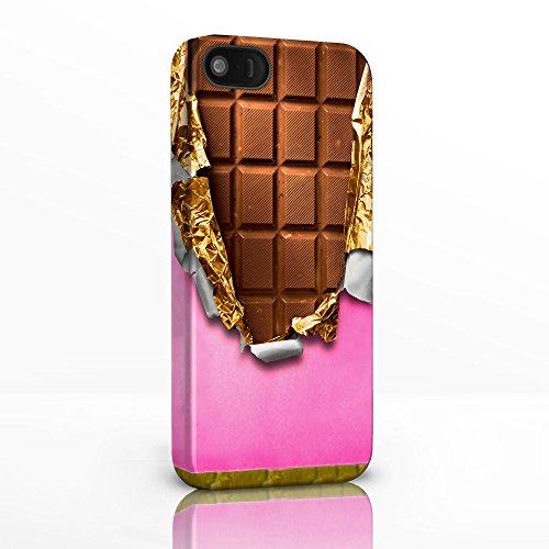 Sweet Shop Collection Handy Fällen für das iPhone Serie. Retro Pick & Mix Hartschalen Rückseite Glossy Cover für iPhone Modelle., plastik, 21: Choc Chip Cookie, iPhone 4 / 4S 13: Chocolate Bar & Wrapper