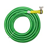#10: TechnoCrafts PVC Braided Water Pipe for Garden Shower 15 Meter (50 Feet) 1/2