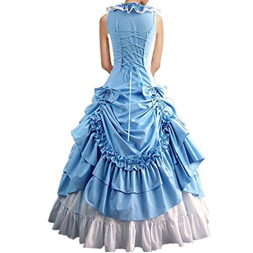 Partiss - Robe - Femme Bleu - Bleu ciel