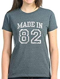 CafePress - Made In 82 - Womens Cotton T-Shirt
