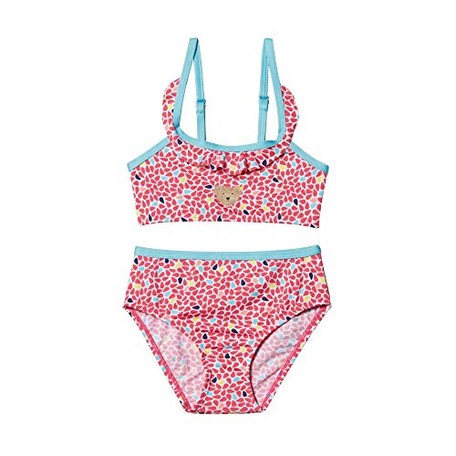 Steiff Baby-Mädchen Bikini Badebekleidungsset, Rosa (Rasperry Sorbet 7014), 86