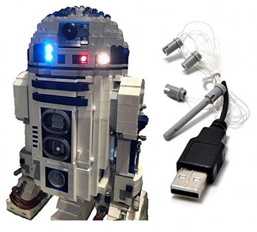 LED Light Up Kit Para lego Star Wars R2-D2 10225 05043