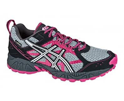 ASICS Women's Trail Running Shoes Fuchsia 6 UK: Amazon.co