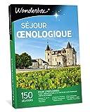 Wonderbox - Coffret cadeau - SEJOUR OENOLOGIQUE - Hotels 3, 4 étoiles, belles demeures vigneronnes, maison d'hôtes.
