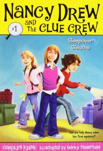 Sleepover Sleuths (Nancy Drew and the Clue Crew, Band 1) - Nancy Boys Hardy Drew