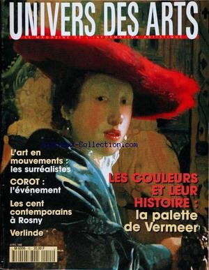 UNIVERS DES ARTS [No 15] du 01/04/1996 -...