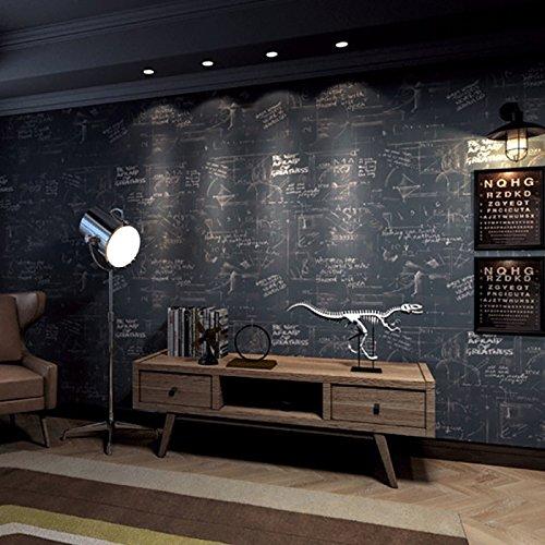 3D Wallpaper Retro Persönlichkeit Poster Englisch Buchstaben Blackboard Wall Wallpaper Wallpapers Bar Cafe Wall Kaufen drei Get One Free ( Style : 58402 )