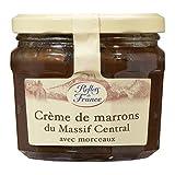 Reflets de France: 2 Gläser Crème de marrons avec morceaux du Massif Central - Maronencreme aus Frankreich aus dem Massif Central
