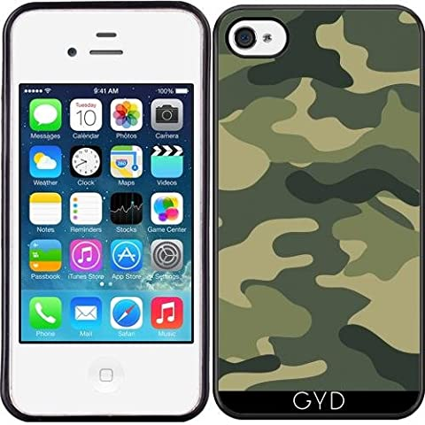 Coque Silicone pour Iphone 4/4S - Camouflage Pieds by wamdesign