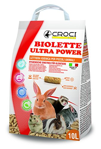 Croci lettiera biolette ultrapower, 10 l