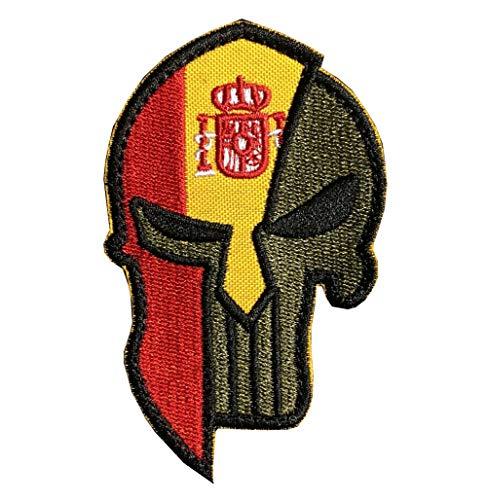 Parche bordado diseño bandera nacional España Ohrong