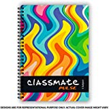 Classmate Pulse Single Line 5-Subject Notebook - 297mm x 210mm, 60 GSM, 252 Pages(Color and design may vary)