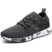 IIIIS-T Hombre Zapatillas de Senderismo Deportivas Aire Libre y Deportes Monta?a y Asfalto Zapatos para Correr Running Malla Transpirable Casuales