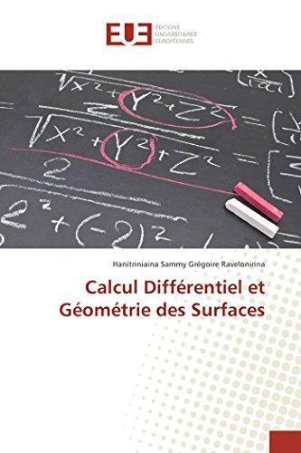 Calcul différentiel et géométrie des surfaces par Hanitriniaina Sammy Grégoire Ravelonirina