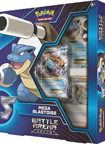 Pokémon POK82403 TCG: Battle Arena Decks Charizard X und Mega Blastoise