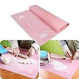 #9: Okayji Silicone Fondant Rolling Mat, Multicolour