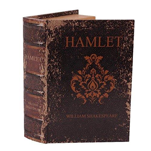 Libro-caja decorativo con aspecto antiguo (Hamlet)