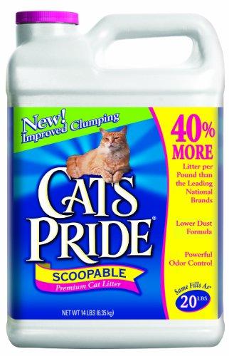 Cat 's Pride Premium scoopable Katzenstreu Krug, 14-Pound -